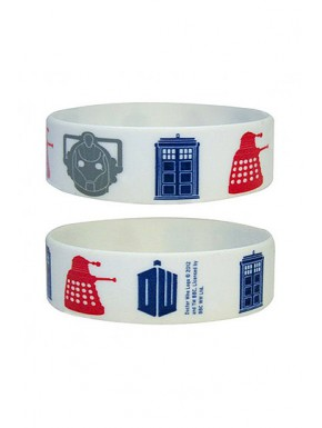 Pulsera caucho Doctor Who