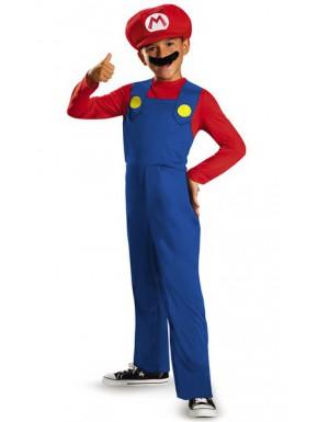 Disfraz niño Mario Super Mario bros.