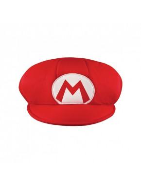 Gorra cosplay Mario Super Mario