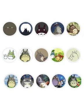 Set 15 chapas Totoro