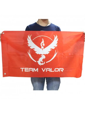 Bandera Team Valor Pokemon