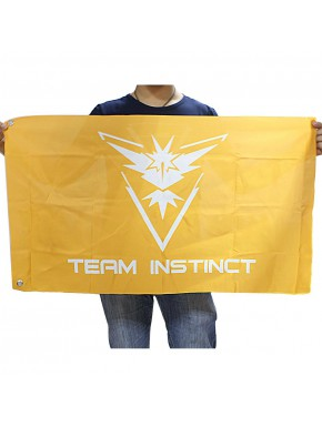 Bandera Team Instinct Pokemon