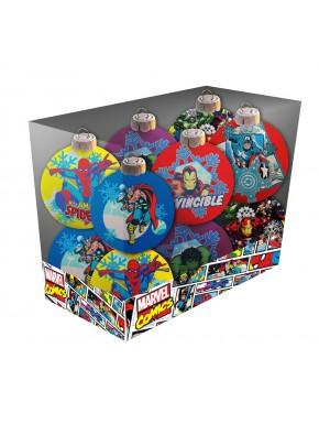 Set 12 bolas Navidad Marvel