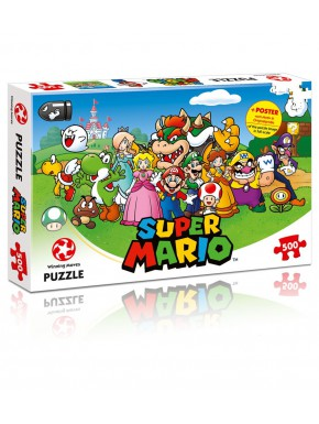 Puzzle Super Mario Friends