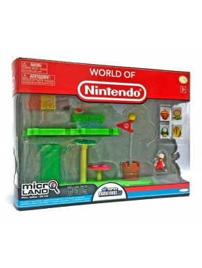 Set figuras y diorama Super Mario