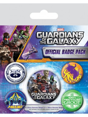 Chapas Guardianes de la Galaxia