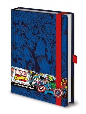 Libreta Premium A5 Capitán América