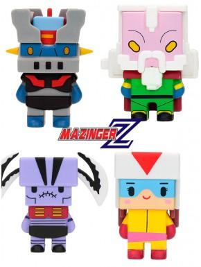 Figuras Pixel Mazinger Z Set A