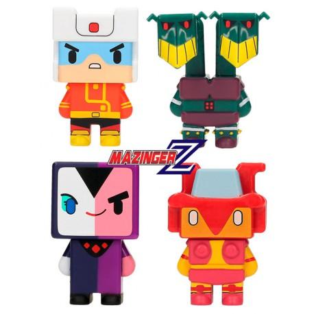 Figuras Pixel Mazinger Z Set B