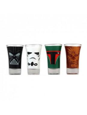 Vasos chupito Star Wars classic