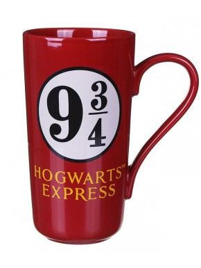 Taza Harry Potter latte 9 3/4