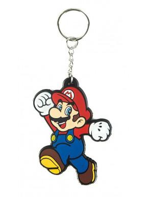Llavero caucho Super Mario Nintendo