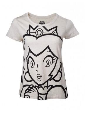 Camiseta chica Peach Super Mario