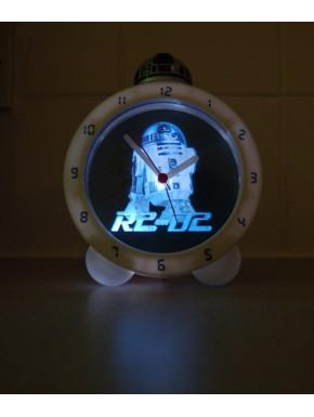 Reloj despertador R2D2 con luz