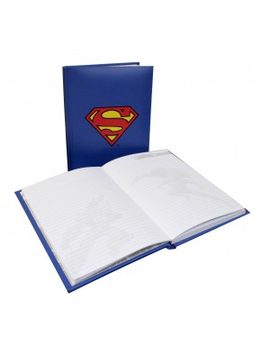 Libreta con luz Superman