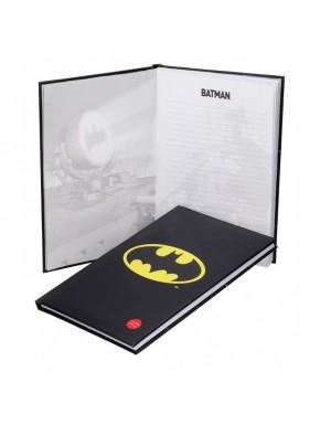 Libreta A4 con luz Batman