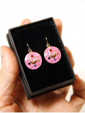 Pendientes Sailor Moon broche