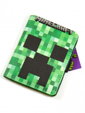 Cartera Minecraft broche