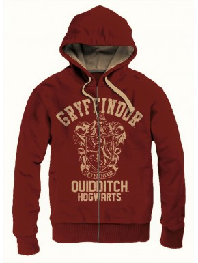 Sudadera Harry Potter Gryffindor Quidditch