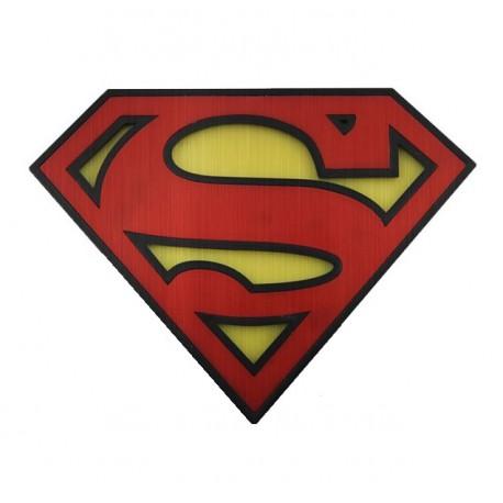Imán-abrebotellas Superman logo