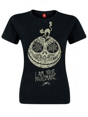 Camiseta chica Pesadilla Antes de Navidad I Am Your Nightmare