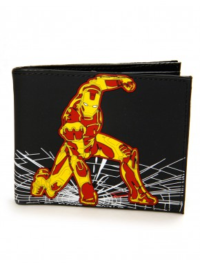 Cartera Iron Man Relieve