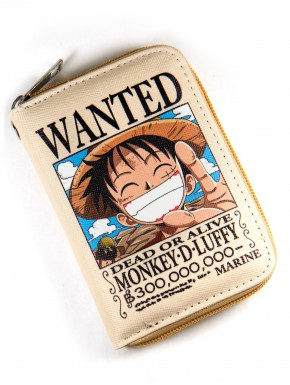 Cartera Wanted One Piece con Cremallera