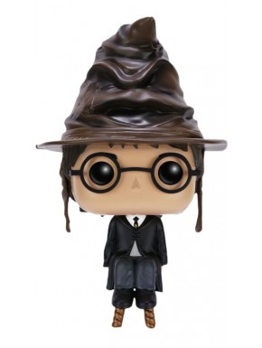 Harry Potter con sombrero seleccionador Funko Pop!