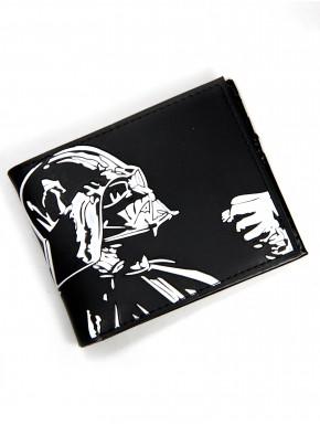 Cartera Star Wars Darth Vader Blanco y Negro