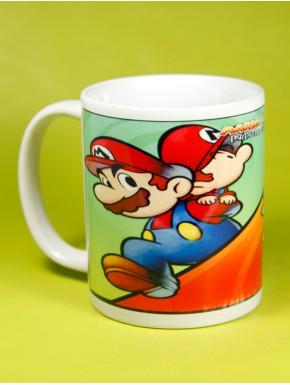 Taza Mario y Luigi