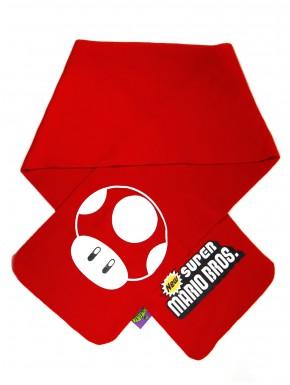 Bufanda Mushroom Rojo Super Mario