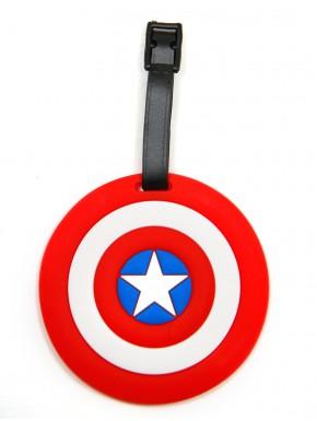 Marvel Comics Identificador para Equipaje del escudo Capitán América
