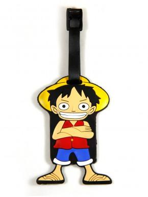 One Piece Identificador para Equipaje Luffy