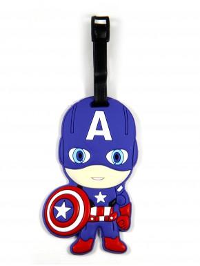 Marvel Identificador para Equipaje del Capitán América
