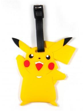 Identificador Equipaje Pokemon Pikachu