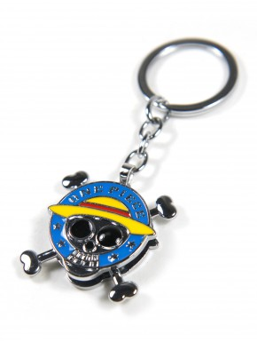 Llavero One Piece Emblema Pirata