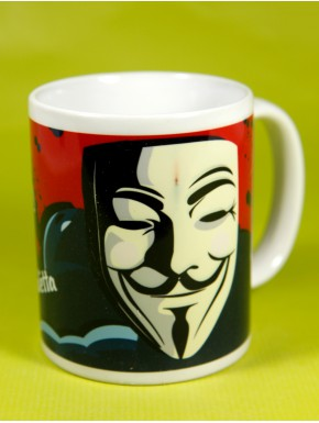 Taza V for Vendetta