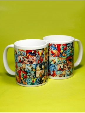 Taza Superheroes Marvel
