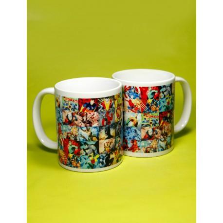 Taza Superheroes Marvel