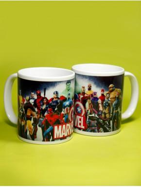 Taza Marvel Comics Characters