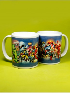 Taza Marvel Comics