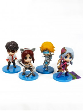 Pack League of Legends Katarina Ashe Lee Sin Ezreal