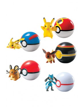 Pokemon Clip 'n' Carry pokéball