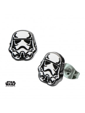 Pendientes Stormtrooper Casco Star Wars