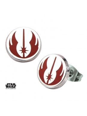 Pendientes Emblema Orden Jedi Star Wars