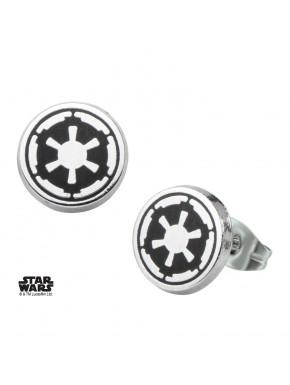 Pendientes Emblema Imperio Star Wars