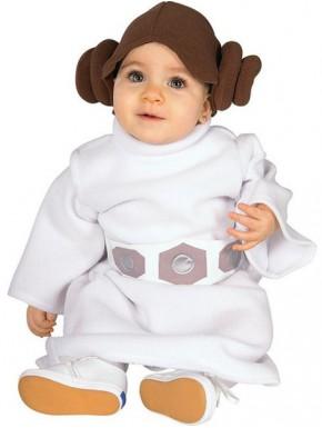 Disfraz Princesa Leia bebés