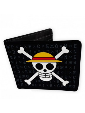 Cartera One Piece Calavera Vinilo
