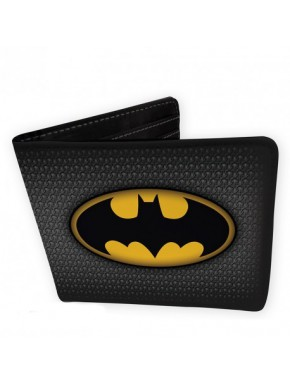 Cartera Logo Batman Vinilo