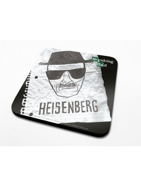Set 6 posavasos Breaking Bad Heisenberg Retrato